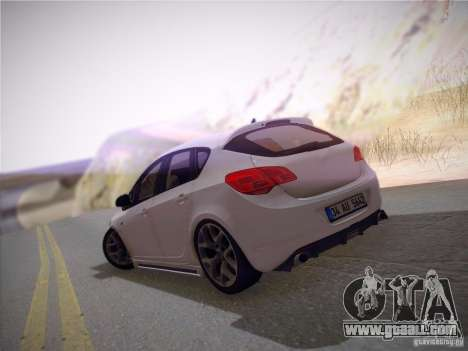 Opel Astra Senner Lower Project for GTA San Andreas side view