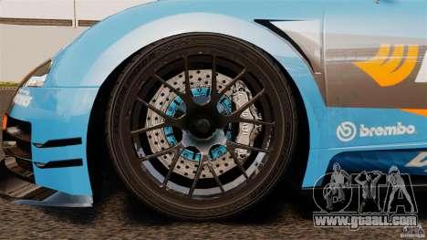 Bugatti Veyron 16.4 Body Kit Final for GTA 4 inner view