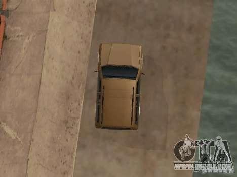 New Landstalker for GTA San Andreas inner view