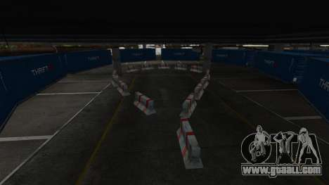 Drift-track at the airport for GTA 4 sixth screenshot