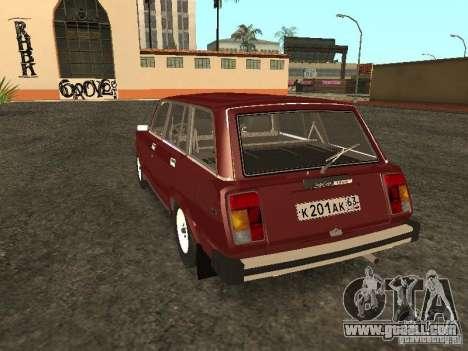 VAZ 2104 v. 2 for GTA San Andreas back left view