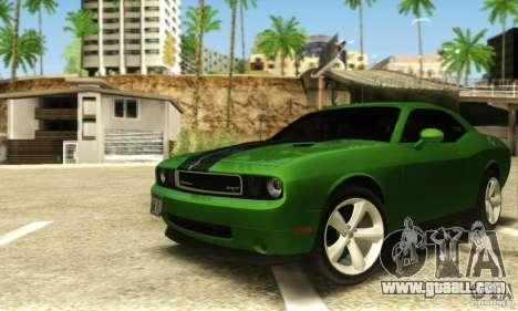 Dodge Challenger SRT-8 for GTA San Andreas left view