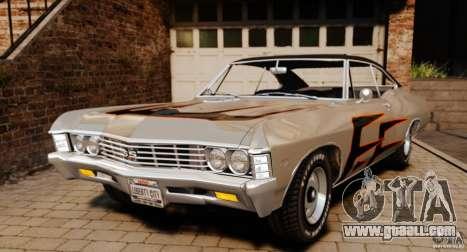 Chevrolet Impala 427 SS 1967 for GTA 4