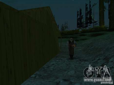 Leatherface for GTA San Andreas second screenshot