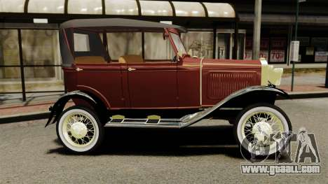 Ford Model T 1926 for GTA 4 left view
