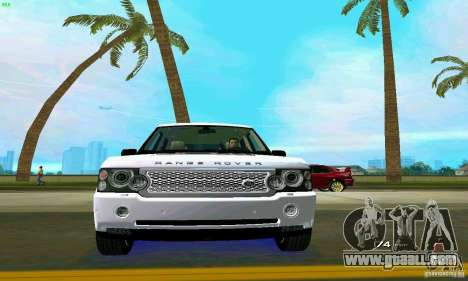 Land Rover Range Rover Supercharged 2008 for GTA Vice City interior