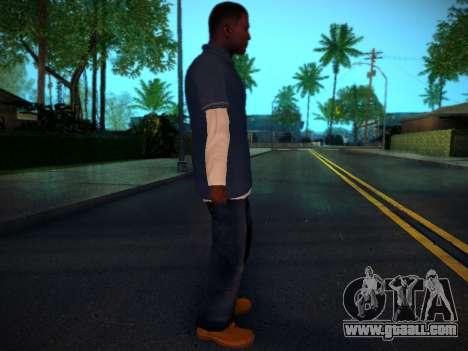 Franklin for GTA San Andreas second screenshot