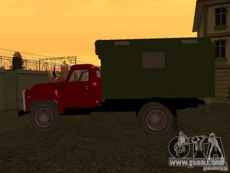 GAZ 52 for GTA San Andreas back left view