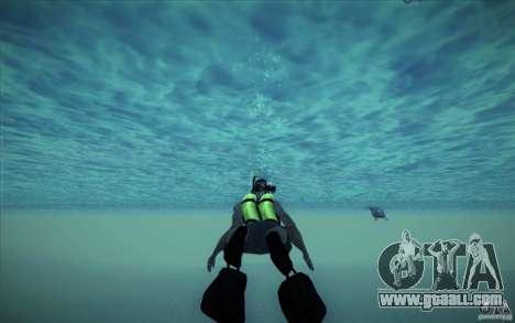 Scuba Tank for GTA San Andreas fifth screenshot