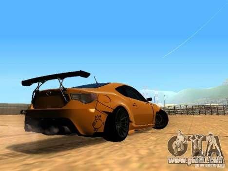 Toyota FT86 Rocket Bunny V2 for GTA San Andreas right view