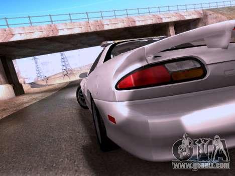 Chevrolet Camaro 2002 California Highway Patrol for GTA San Andreas inner view