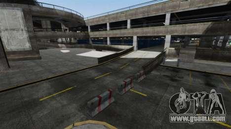 Drift-track at the airport for GTA 4 third screenshot