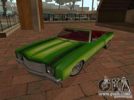 1970 Chevrolet Monte Carlo for GTA San Andreas back view