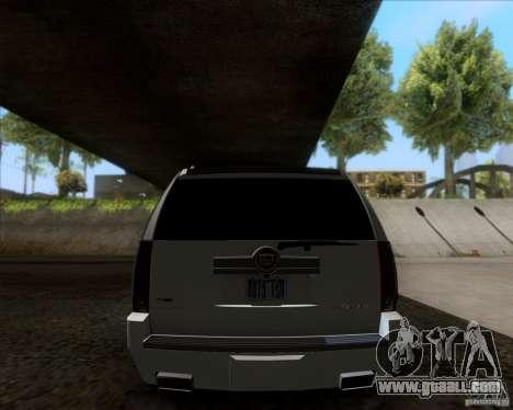 Cadillac Escalade ESV Platinum 2013 for GTA San Andreas right view