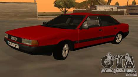 Audi 80 B3 v2.0 for GTA San Andreas left view