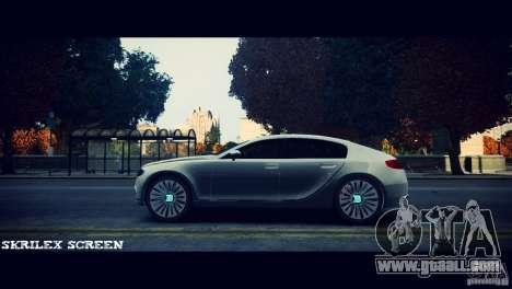 Bugatti Galibier 16C (Bug fix) for GTA 4 back left view