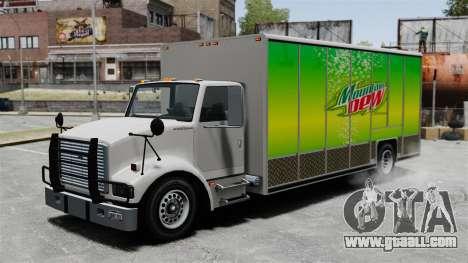 The new advertisement for Benson truck for GTA 4