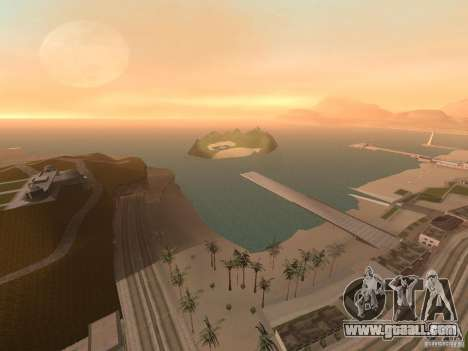 Volcano for GTA San Andreas forth screenshot
