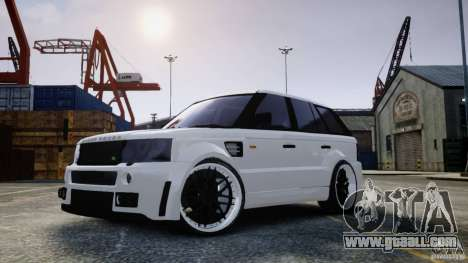 Range Rover Sport RR SCHEARZ for GTA 4