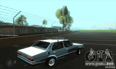 Volkswagen Jetta MK1 for GTA San Andreas right view