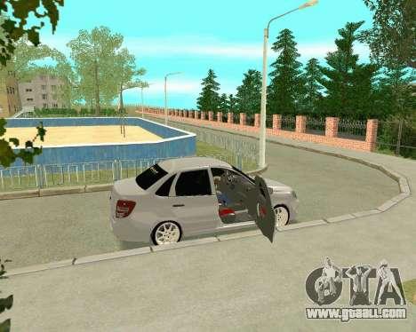 VAZ 2190 for GTA San Andreas inner view