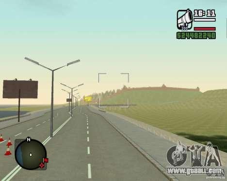 Gosport Road-Nižegorodsk for GTA San Andreas forth screenshot