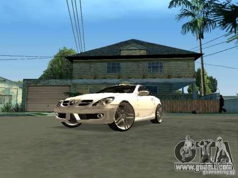 Mercedes Benz SLK 300 for GTA San Andreas right view
