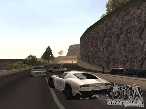 Lamborghini Miura LP670 for GTA San Andreas left view