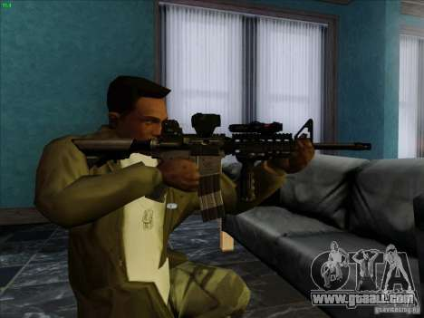 MK-18 US Navy Style for GTA San Andreas third screenshot