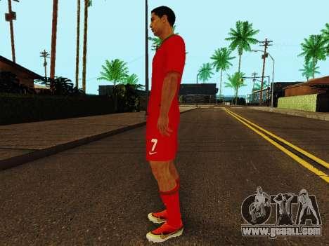Cristiano Ronaldo v4 for GTA San Andreas third screenshot
