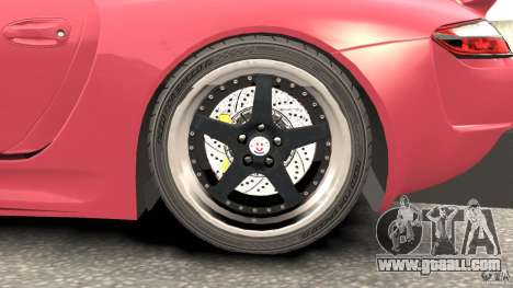 Porsche 997 GT2 Body Kit 2 for GTA 4 side view