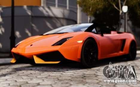 Lamborghini Gallardo LP570-4 Spyder for GTA 4