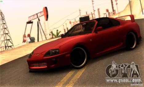 Toyota Supra Targa for GTA San Andreas