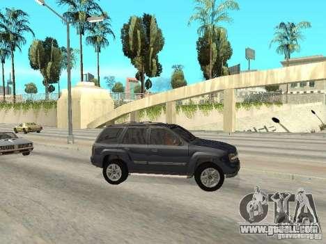 Chevrolet TrailBlazer 2003 for GTA San Andreas left view