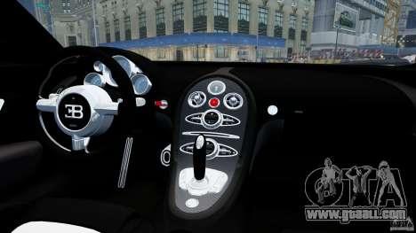 Bugatti Veyron 16.4 v1.0 wheel 1 for GTA 4 inner view