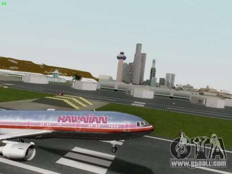 McDonell Douglas DC-10-30 Hawaiian for GTA San Andreas