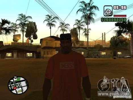 Rammstein t-shirt v1 for GTA San Andreas forth screenshot