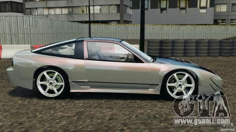 Nissan 240SX Kawabata Drift for GTA 4 left view