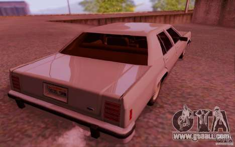 Ford Crown  Victoria LTD 1985 for GTA San Andreas right view