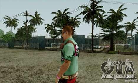 Skin substitute Fam1 for GTA San Andreas third screenshot