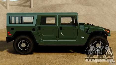 Hummer H1 Alpha for GTA 4 left view