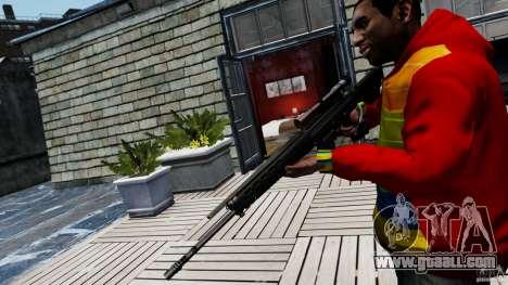 SIG SG 550 Sniper for GTA 4 second screenshot