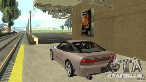 Nissan 240sx S13 JDM for GTA San Andreas back left view