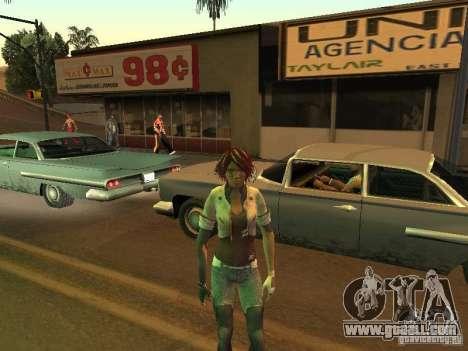 Remember Me Nilin for GTA San Andreas fifth screenshot