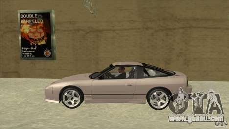 Nissan 240sx S13 JDM for GTA San Andreas left view