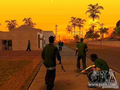 Grove Street Forever for GTA San Andreas second screenshot