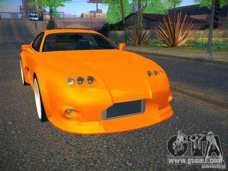 Toyota Supra VeilSide Fortune 2003 for GTA San Andreas