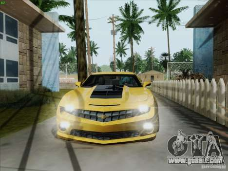 Chevrolet Camaro SS 2012 for GTA San Andreas left view