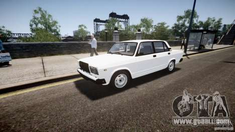 VAZ 2107 for GTA 4 side view
