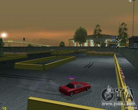Drift Circuit for GTA San Andreas